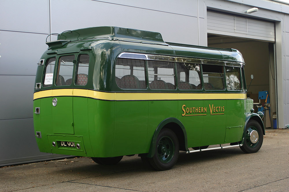 Bus13 - 1934 Dennis Ace from Isle of Wight following complete restoration