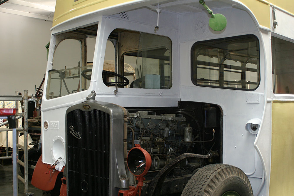Bus2 - 1939 Bristol K during painting