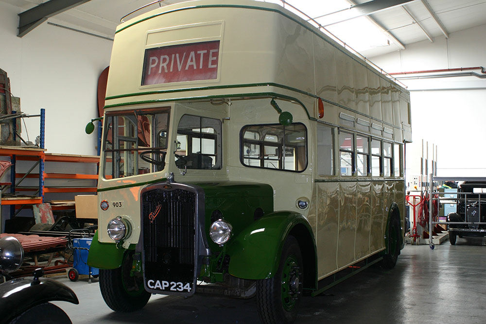 Bus6 - 1939 Britol K nearing completion