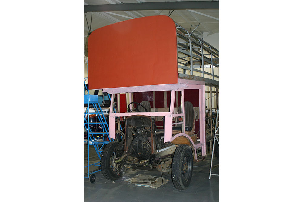 Paint3 - 1934 Commer Raider with initial priming coats
